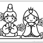 ぬり絵 ~春~3